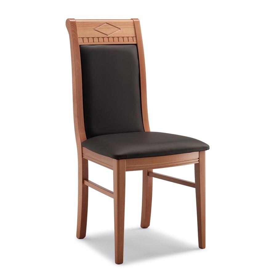 Sedia in legno imbottita sedie in legno for Sedie acciaio e legno